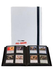 Ultra Pro 4-Pocket ProBinder White