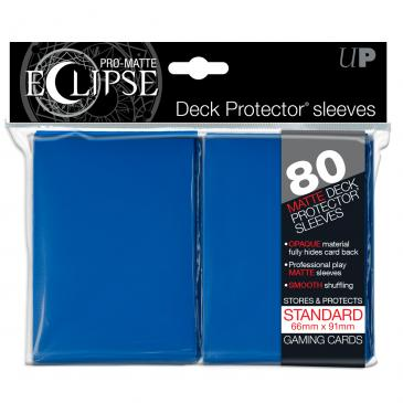 Ultra Pro: Pro-Matte Eclipse Blue 80ct