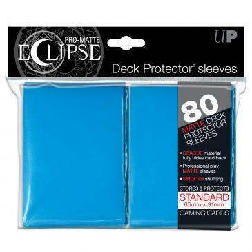 Ultra Pro: Pro-Matte Eclipse Light Blue 80ct
