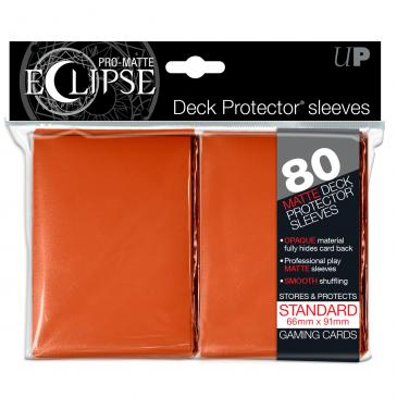 Ultra Pro: Pro-Matte Eclipse Orange 80ct