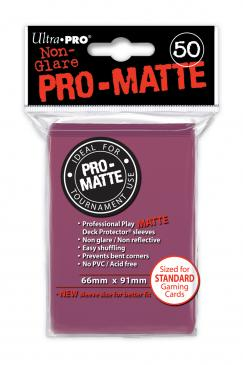 Ultra Pro: Pro Matte Blackberry