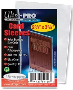 Ultra Pro Soft Sleeves