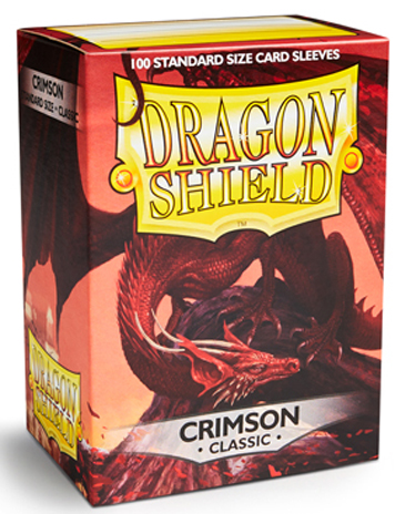 Arcane Tinmen Dragon Shield Crimson