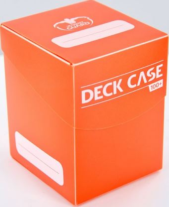 Ultimate Guard Deck Case 100+ Orange