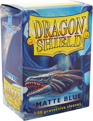 Arcane Tinmen Dragon Shield Matte Blue