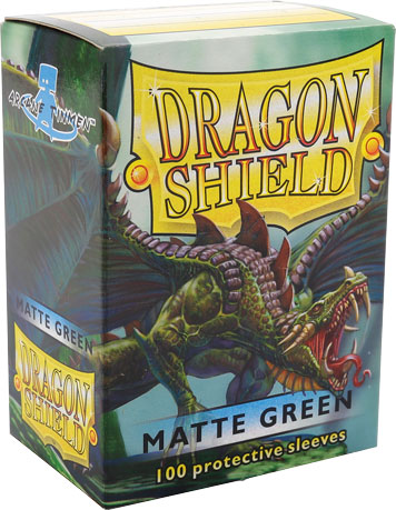 Arcane Tinmen Dragon Shield Matte Green