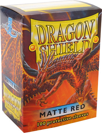Arcane Tinmen Dragon Shield Matte Red