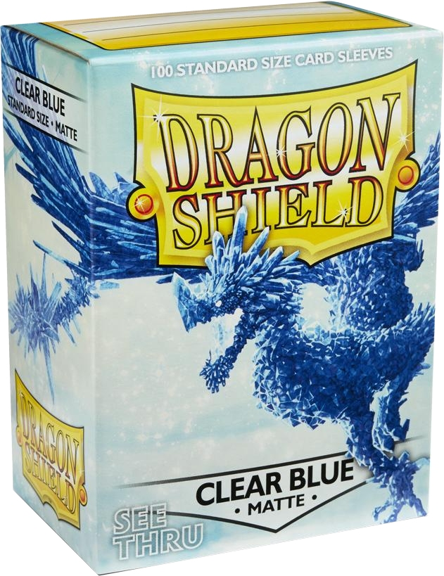 Arcane Tinmen Dragon Shield Matte Clear Blue