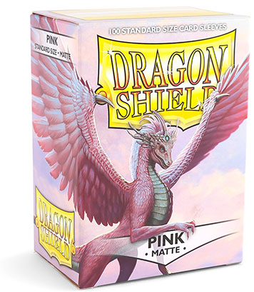 Arcane Tinmen Dragon Shield Matte Pink
