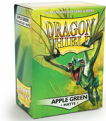 Arcane Tinmen Dragon Shield Matte Apple Green