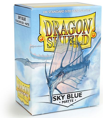 Arcane Tinmen Dragon Shield Matte Sky Blue