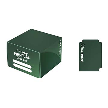 Ultra Pro Pro-Dual 180 Deck Box - Green