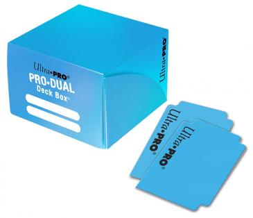 Ultra Pro Pro-Dual 180 Deck Box - Light Blue