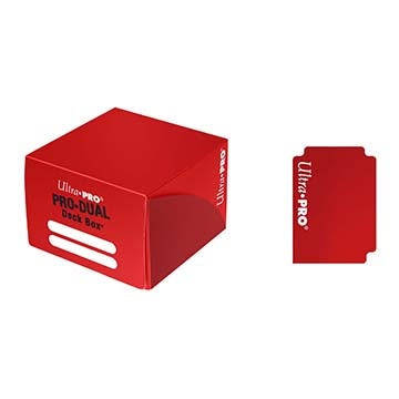 Ultra Pro Pro-Dual 180 Deck Box - Red