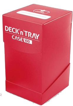 Ultimate Guard Deck'n'Tray 100+ - Red