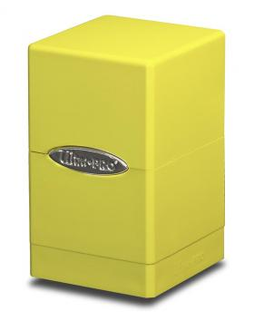 Ultra Pro Satin Tower Deck Box - Bright Yellow