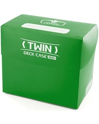 Ultimate Guard Twin Deck Case 160+ - Green