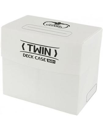 Ultimate Guard Twin Deck Case 160+ - White