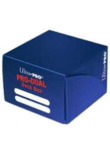 Ultra Pro Pro-Dual 180 Deck Box - Blue