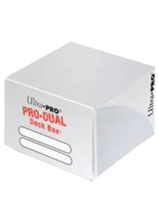 Ultra Pro Pro-Dual 180 Deck Box - White