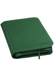 Ultimate Guard 4 Pocket Zipfolio Xenoskin Green