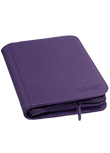 Ultimate Guard 4 Pocket Zipfolio Xenoskin Purple
