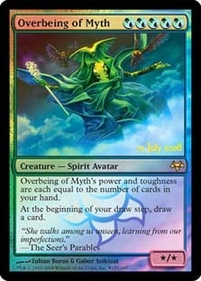 Overbeing of Myth (Prerelease Foil)
