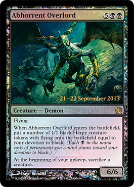 Abhorrent Overlord (Prerelease Foil)