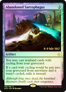 Abandoned Sarcophagus (Prerelease Foil)