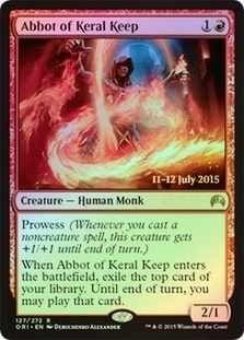 Abbot of Keral Keep (Prerelease Foil)