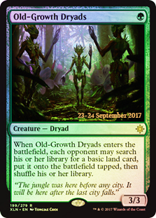 Old Growth Dryads (Prerelease Foil)