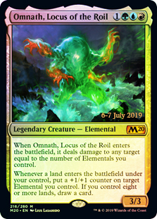Omnath, Locus of the Roil (Prerelease Foil)